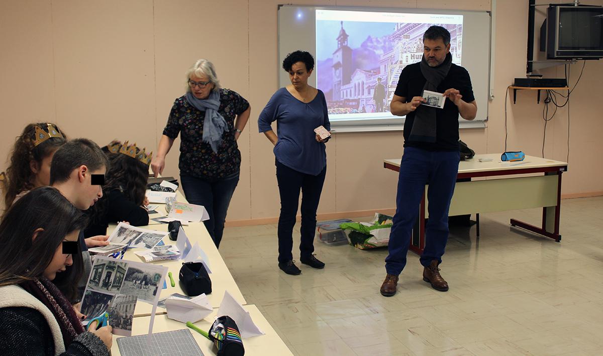 Atelier Villes de Papier à La Méridienne, scène conventionnée de Lunéville (4)