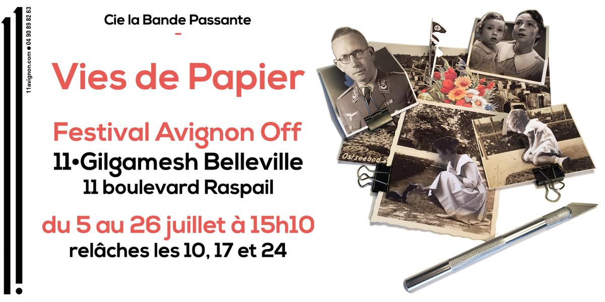 IMG Vies de Papier du 5 au 26 juillet au festival d'Avignon OFF › 11• Gilgamesh Belleville