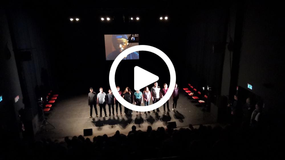 Vidéo restitution projet 14 ans au Maroc, au Tandem à Douai