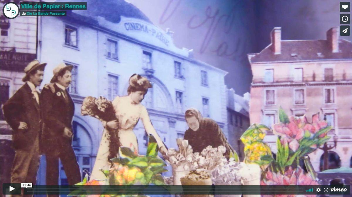 video Ville de Papier Rennes