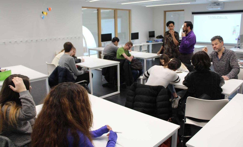 Atelier Villes de Papier à La Méridienne, scène conventionnée de Lunéville (2)